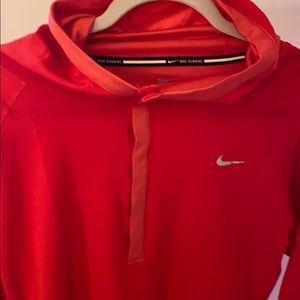 Nike hooded top